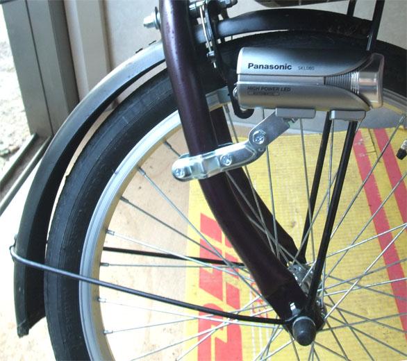 パナソニック 自転車 かしこいランプV3 付け方