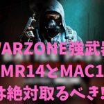 COD WARZONE 最強武器 DMR14 MAC10